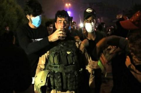 10 Orang Tewas dalam Aksi Protes di Basra Irak