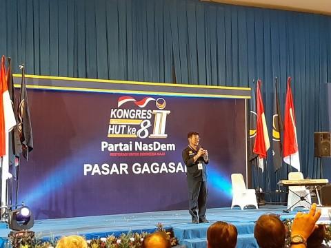 Syahrul Yasin Limpo Janji Tak Permalukan NasDem