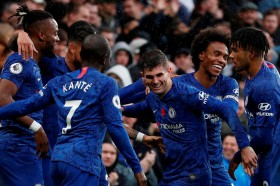 Chelsea Bungkam Crystal Palace 2-0