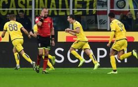 Inter Tertinggal di Babak Pertama