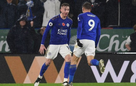 Leicester Pecundangi Arsenal