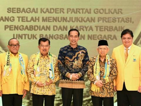 Jokowi Ogah Campuri Urusan Internal Golkar