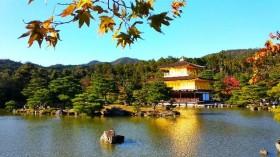 Megahnya Kuil Emas Kyoto