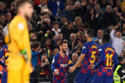Hattrick Messi Bawa Barca Tekuk Celta Vigo 4-1