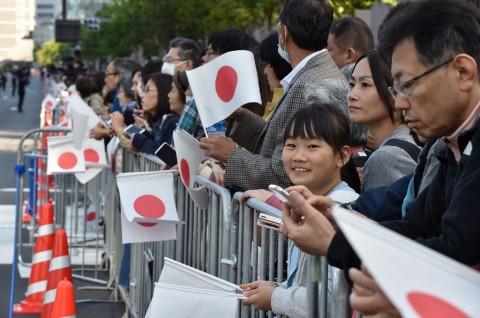 Ribuan Warga Jepang Nantikan Parade Kaisar Naruhito