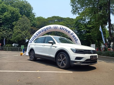 Impresi Perdana Menjadi Penumpang All New Volkswagen Tiguan Allspace