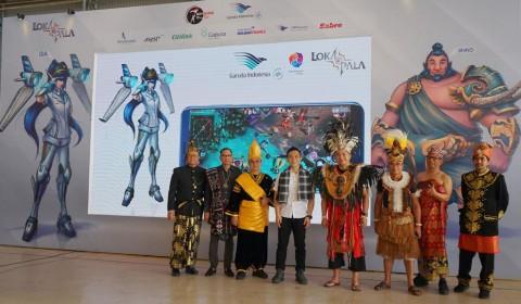 Sambut Hari Pahlawan, Garuda Indonesia Luncurkan Karakter Game