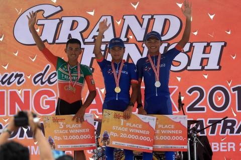 Pembalap Malaysia Kuasai Etape Sembilan TdS 2019