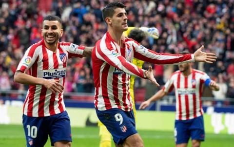 Taklukkan Espanyol, Atletico Ramaikan Persaingan Papan Atas