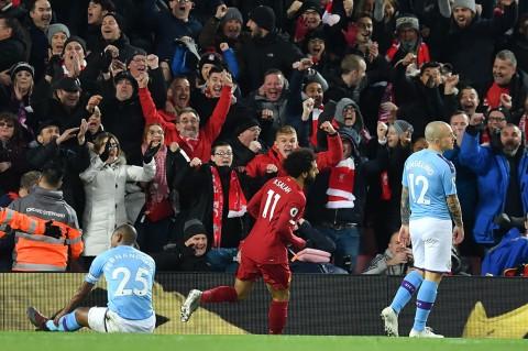 Liverpool Libas Man City di Anfield
