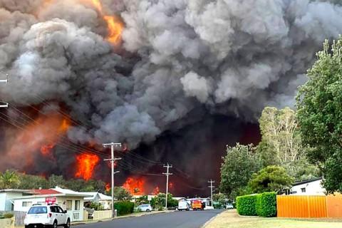 Ancaman Kebakaran Hutan, Warga Australia Diminta Evakuasi