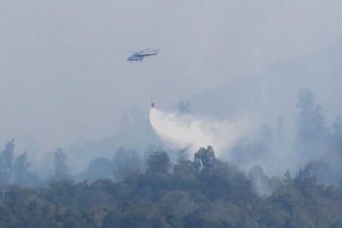 7 Helikopter Pemadam Kebakaran Berhenti Beroperasi