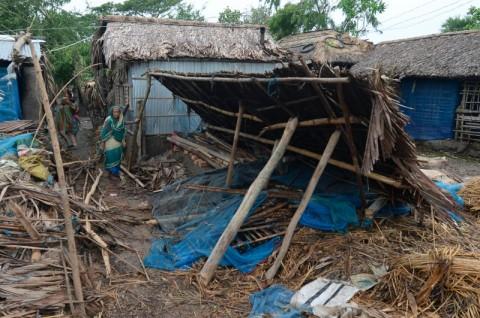 Korban Tewas Akibat Siklon Bangladesh Terus Tertambah