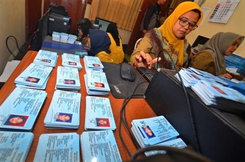 Blangko KTP-el di Yogyakarta Diprioritaskan untuk Pemula
