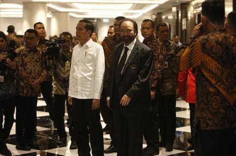 Jokowi Bersyukur NasDem Tetap Loyal