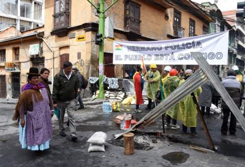 Rusia Tuding Oposisi Sebabkan Kerusuhan Bolivia