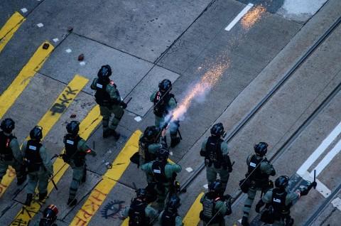 AS Khawatir atas Memanasnya Situasi di Hong Kong