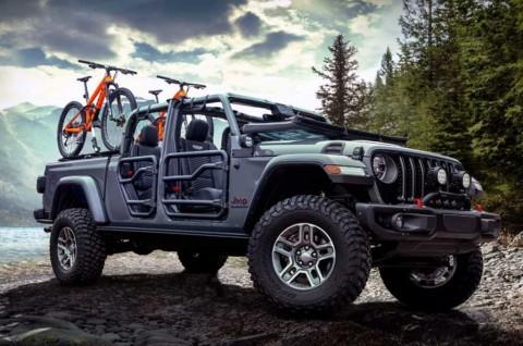 Intip Modifikasi Jeep Gladiator Klasik nan Garang