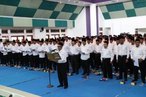 591 Calon Kades Kabupaten Tangerang Komitmen Jaga Kerukunan