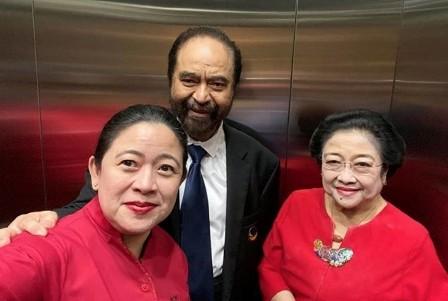 Hubungan Megawati-Surya Paloh Tak Renggang