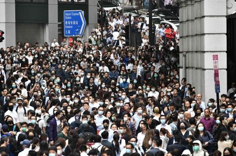 Deretan Peristiwa Penting Sepanjang Demonstrasi Hong Kong