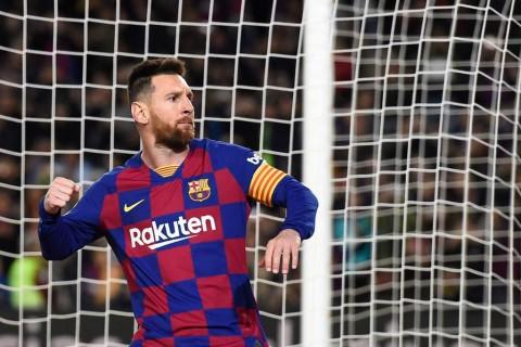 Messi Bakal Bertahan di Barcelona Lima Tahun Lagi