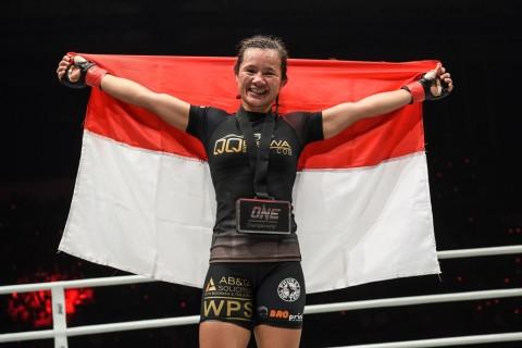 Priscilla Lumban Gaol Waspadai Atlet Kick Boxing Thailand dan Filipina