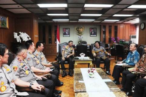 Kementerian LHK-Polri Pertajam Kerja Sama Tangani Karhutla