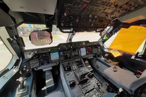 Mengintip Isi Pesawat Angkut A400M Milik AU Inggris