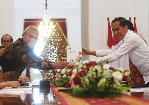 Jokowi Buka Opsi Revisi UU Pemilu