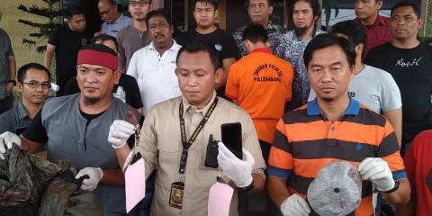 Begal Sadis yang Menyasar Taksi Online di Palembang Ditangkap