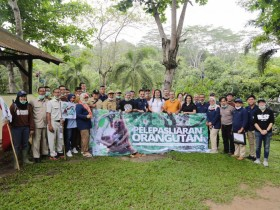 Anak Usaha Pupuk Indonesia Jaga Kelestarian Satwa Langka