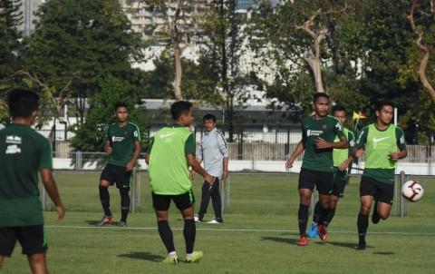 Hadapi Iran U-23, Momen Indra Sjafri Matangkan Skuat Timnas U-23