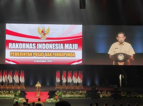 Presiden Beri Pengarahan ke 2.693 Kepala Daerah