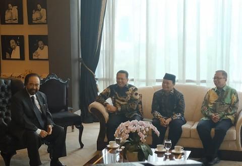 Pimpinan MPR Silaturahmi ke Ketum NasDem