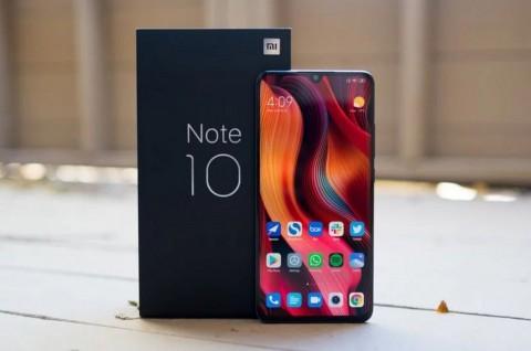 Xiaomi Mi Note 10 Gunakan Panel OLED Buatan Visionox