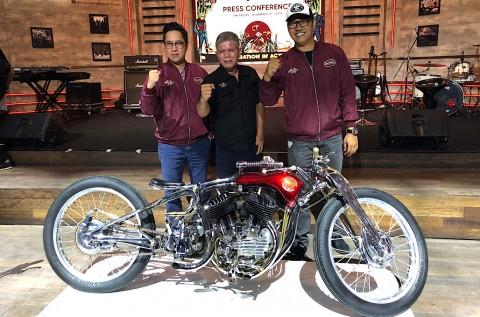 Puncak Custom Bike Contest Suryanation, Ambil Konsep Show-off