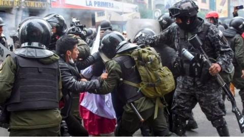 Bentrokan Baru Kembali Pecah di Bolivia