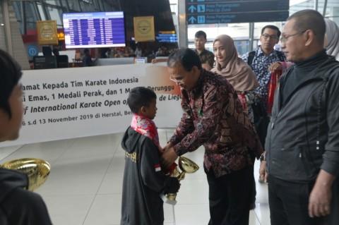 Karateka Pelajar SD Indonesia Sabet Lima Medali di Belgia