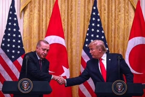 Kunjungan Erdogan ke Gedung Putih Disambut dengan Demonstrasi