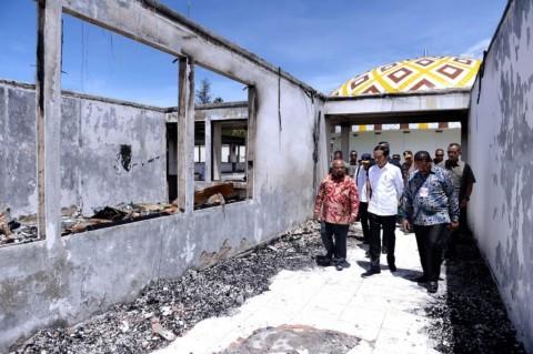 Rekonstruksi Pasar Wouma di Wamena Tuntas