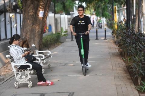 BPTJ: Penggunaan Otopet Listrik di Jalan Raya Bermasalah