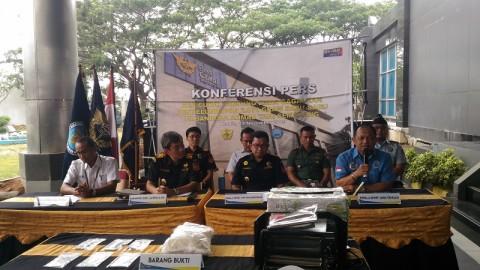 Penyelundupan Sabu dari Malaysia Digagalkan
