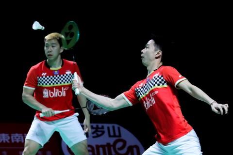 Hong Kong Open 2019: Marcus/Kevin Pastikan Tempat di Perempat Final