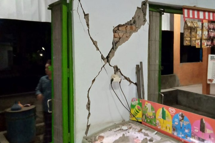 Gempa di Bali Rusak Sejumlah Bangunan