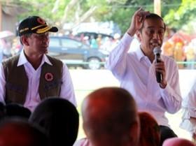 Jokowi Berkunjung ke RSUD Abdul Moeloek Lampung