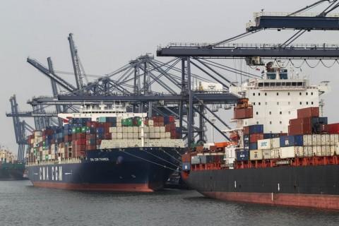 Ekspor RI Sepanjang Oktober USD14,93 Miliar