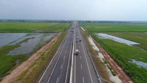 Presiden Resmikan Ruas Tol Terpanjang Trans Sumatra