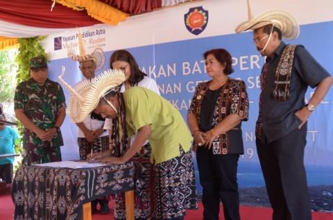Yayasan Pendidikan Astra Resmikan 3 Sekolah di Kupang