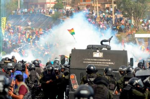 Lima Pendukung Morales Tewas dalam Bentrokan di Bolivia